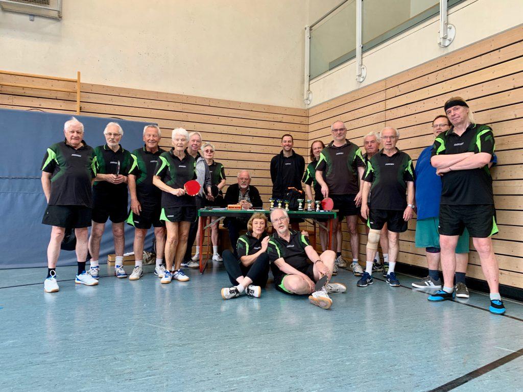 Vereinsmeisterschaft der Tischtennis-Abteilung im Jahr 2019